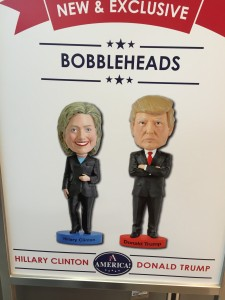 Which bobblehead will get your vote?