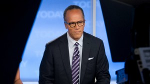 Lester Holt: a real pro in the anchor chair.  Photo courtesy NBC, the grio.com