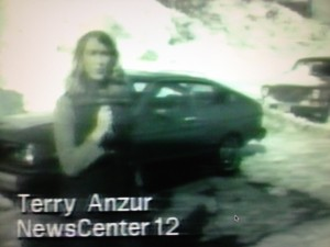 Only a few fuzzy frames survive from my first TV job at WPRI in Providence; the station was still shooting news stories on film and did not have a female anchor.