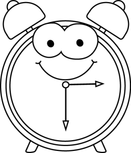 cartoon-alarm-clock-black-white